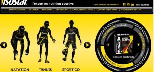 isostar nutrition sportive