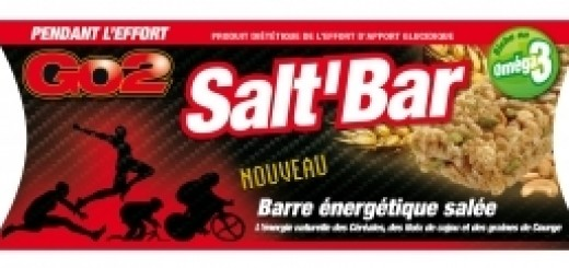 barre salée nutrition endurance go2