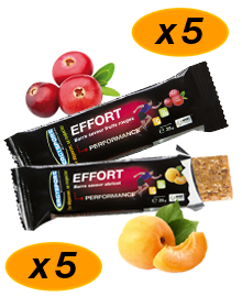 Pack de barres aux fruit Ergysport