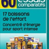Test boissons sport 60 millions consommateurs