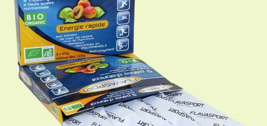 Barres diététiques anti-oxydantes flavasport